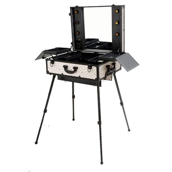 900 series metal silver briefcase - Ecart